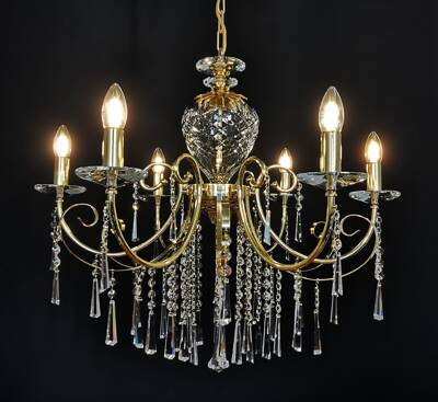 Chandelier - metal arms AL211