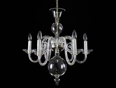 Clear Glass Chandelier LW513060100G
