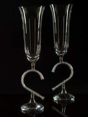 Crystal champagne Glass 2pcs