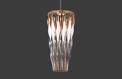 Design pendant light LV035LB copper