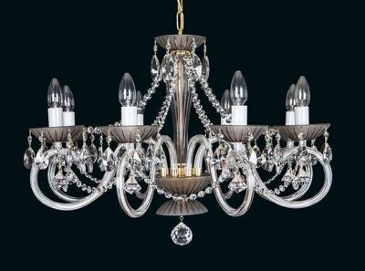 Glass chandelier EL2238021