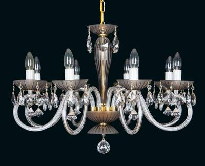 Glass chandelier EL2238022SM