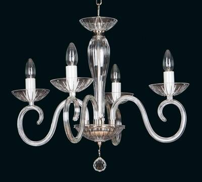 Clear Glass Chandelier EL2244024