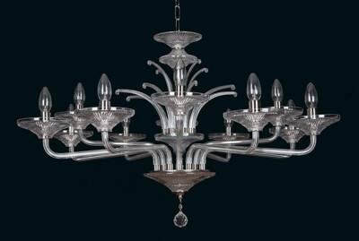 Clear Glass Chandelier EL4338400