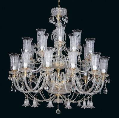 Cut crystal chandelier EL68124301TB