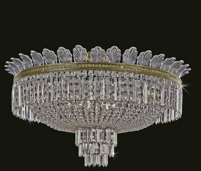 Baccarat-style ceiling luminaire TH134