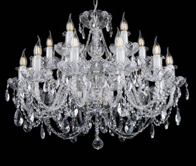 Crystal chandelier EL10212+602PB