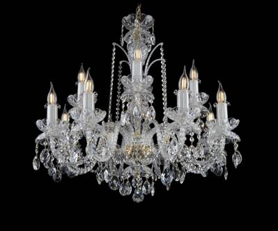 Crystal chandelier EL1101240PB