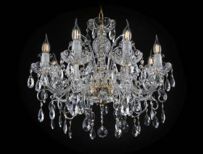 Crystal chandelier EL140802PB
